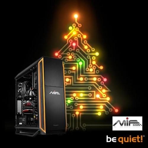 Bild: be quiet! Adventskalender: PC im Wert von 1249 Euro zu gewinnen.