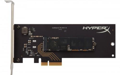 Kingston HyperX Predator PCIe SSD mit bis zu 1,4 GB/s Lesegeschwindigkeit