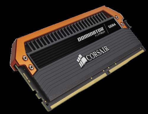 Bild: Corsair Dominator Platinum DDR4-Speicherkit für Gigabyte X99-SOC Champion