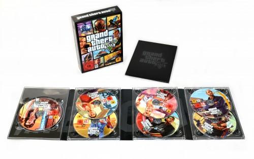 GTA 5 Retail Box mit 7 DVDs