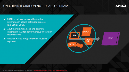 Amd hbm disparate technology integration