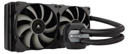 Bild: Corsair Hydro Series H110i GTX: Wartungsfreier CPU-Flüssigkühler