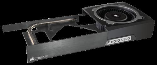 Bild: Corsair HG10: Flüssigkühlerhalter für Nvidias GeForce-VGAs vorgestellt