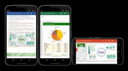Microsoft Office für Android-Smartphones freigegeben