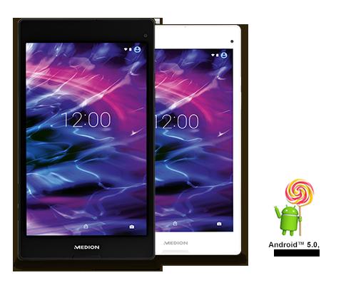 Aldi: 8-Zoll-Tablet mit Android 5.0 für 129 Euro