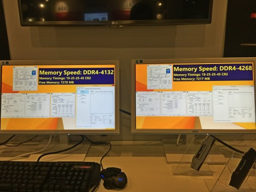G.SKILL zeigt DDR4-Kits mit 4.266 MHz und 4.133 MHz