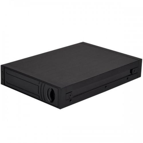 SilverStone MS08: Hot-Swap-Einschub für zwei 2,5-Zoll-Festplatten