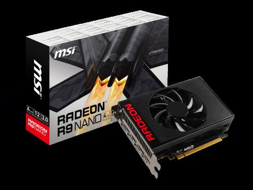 MSI R9 Nano 4G: Kompakte High-End-Grafikkarte für Gaming-PCs