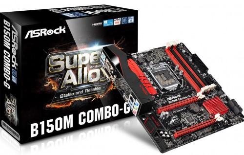 Bild: ASRock B150M Combo-G3: Mainboard mit DDR4- und DDR3-RAM-Slots