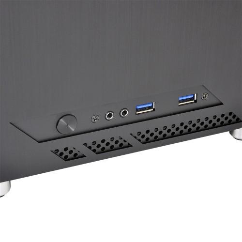 Lian Li PC-Q10WX: Gehäuse im Micro-ITX-Format mit transparenter Seitenwand