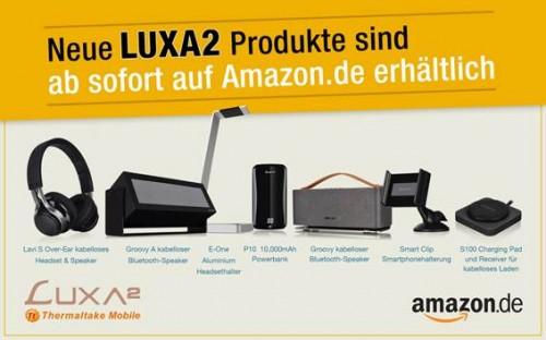 Bild: Thermaltake Luxa2: Neue Produkte für Mobil-Geräte bei Amazon erhältlich