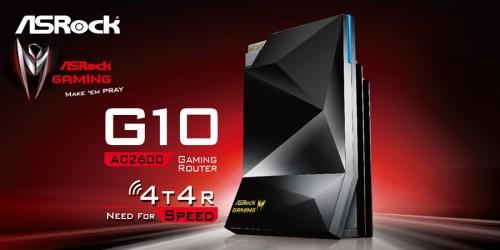 Bild: ASRock G10: Gaming-Router mit 2-in-1-Dongle und Gaming Boost jetzt verfügbar