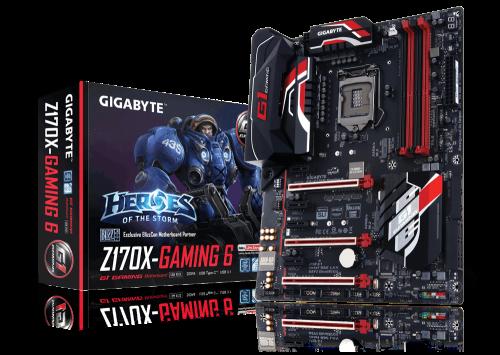 Bild: Gigabyte GA-Z170X-Gaming 6 zeigt sich