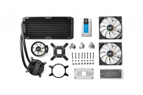 Cryorig: Hybrid-Wasserkühler für CPUs vorgestellt