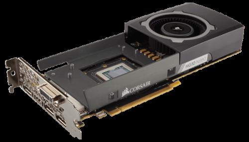 Bild: Corsair: AiO-Wasserkühlungsgehäuse für GeForce GTX-900er-Modelle nutzbar