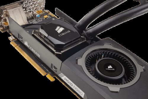 Corsair: AiO-Wasserkühlungsgehäuse für GeForce GTX-900er-Modelle nutzbar