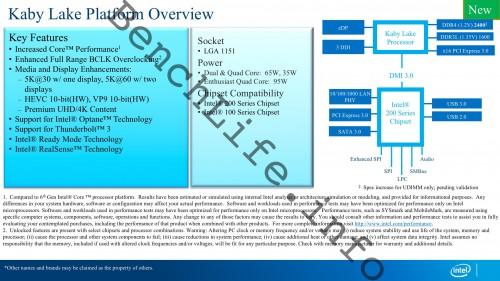 Intel Kaby Lake: Neue Informationen zu den Prozessoren und 200er-Chipsätzen