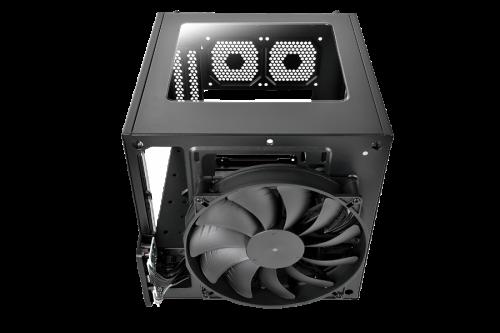 Bild: Thermaltake Supressor F1 Mini: Mini-ITX-Würfelgehäuse