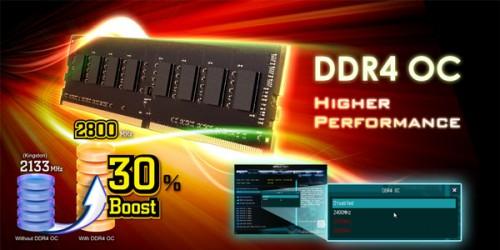 Bild: ASRock: DDR4-RAM-Overclocking mit H170, B150 und H110-Chipsätzen