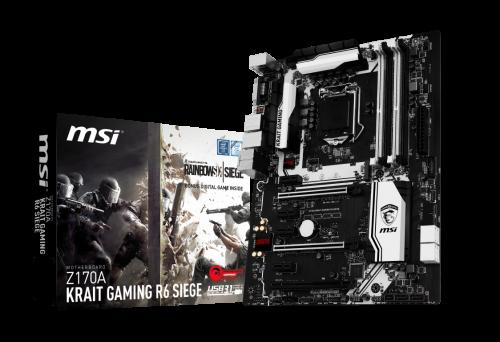 MSI: Motherboard-Bundels mit Tom Clancy�s Rainbow Six Siege