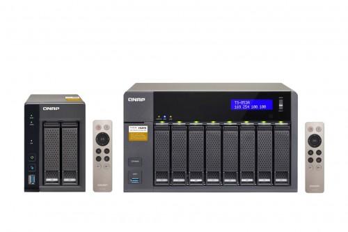 QNAP TS-x53A-Serie mit QTS und Linux-Unterstützung