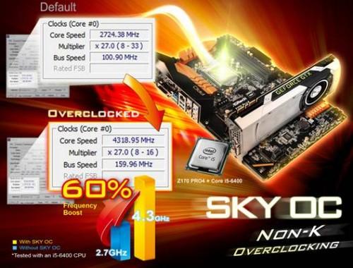 Bild: ASRock SKY OC: Non-K-Overclocking für Skylake-Prozessoren vorgestellt