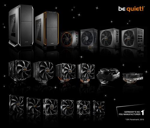 Bild: be quiet! Geschenke auspacken... Die Gewinner unseres Wunschgewinnspiels