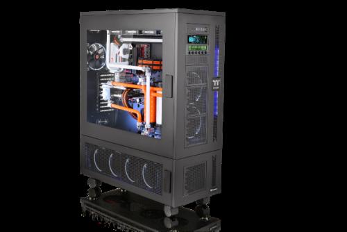 Bild: Thermaltake Core-W-Serie: Premium Gehäuse W100 und WP100 vorgestellt