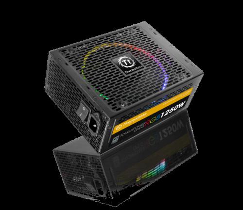 Thermaltake Toughpower DPS G RGB: 80-PLUS-Netzteil mit 1250 Watt und RGB-Beleuchtung