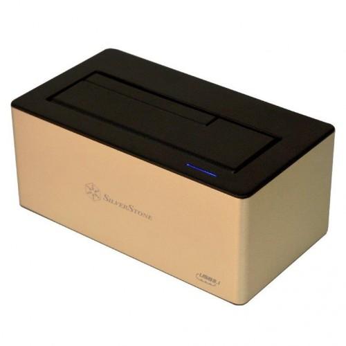 Bild: SilverStone TS11-C: Festplatten-Dock mit USB-Typ-C