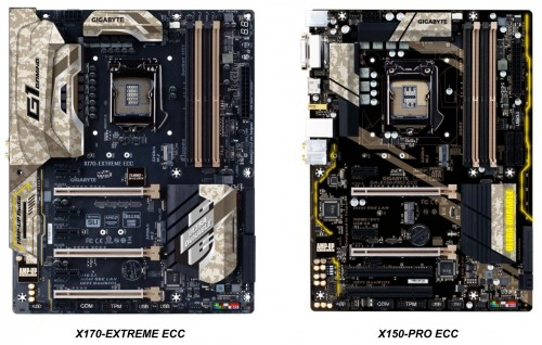 Bild: Gigabyte stellt neue X170- und X150-Mainboards vor