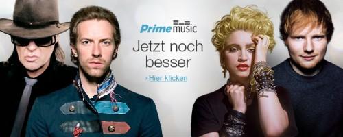Amazon erweitert Prime Music um Content von Warner Music Group