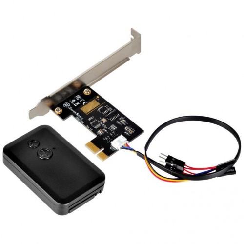 Bild: SilverStone ES01-PCIe: Kleine und praktische PC-Fernbedienung