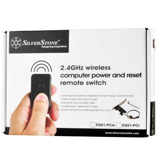 SilverStone ES01-PCIe: Kleine und praktische PC-Fernbedienung