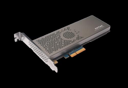 Bild: Zotac Sonix: PCIe-SSD mit 480 GB und NVMe
