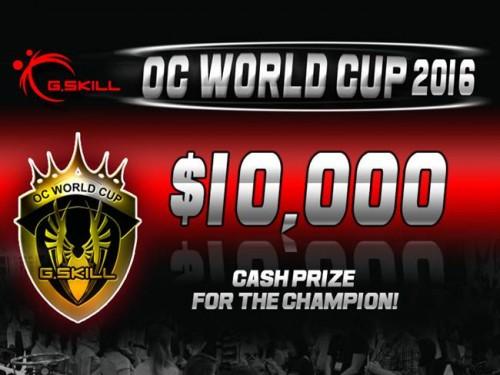 Bild: G.Skill kündigt OC World Cup 2016 an