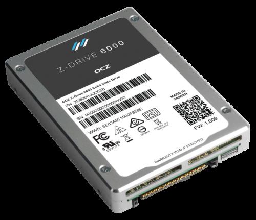 Bild: OCZ präsentiert Z-Drive 6000 und 6300 mit NVMe und PCI-Express-Anbindung