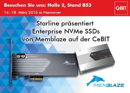 Memblaze PBlaze4: PCIe-SSDs mit bis zu 6,4 Terabyte Speicherplatz
