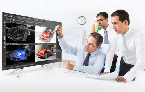 Philips BDM4350UC: 43 Zoll großer Monitor mit 4K-Auflösung