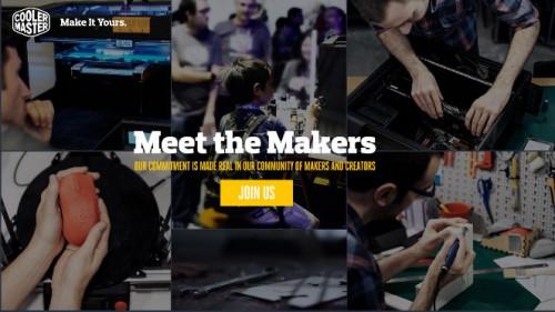 Cooler master maker portal