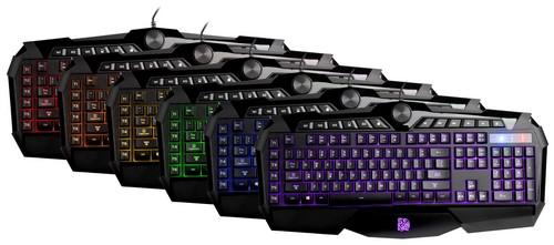 Tt eSports: Günstiges Tastatur-Maus-Bundle mit RGB-Beleuchtung