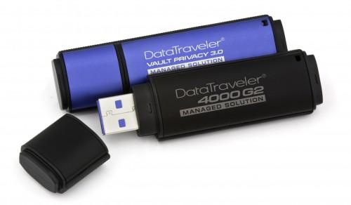 Kingston: USB-Sticks mit 256-Bit-AES-Verschlüsselung und FIPS-Zertifizierug