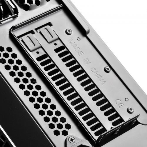 Bild: SilverStone RVZ01B-E: Mini-ITX-Gehäuse für Standard-ATX-Netzteile