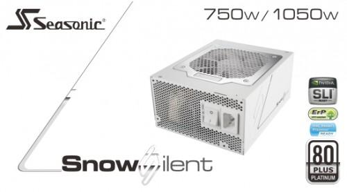 Seasonic Snow Silent 1050W: High-End-Netzteil im schicken weißen Design
