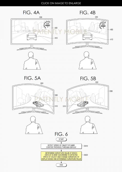 Samsung: Flexibler Fernseher verformt sich je nach Spielinhalt