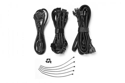 Bild: be quiet! Netzteile ab sofort mit komplett schwarzen Kabeln