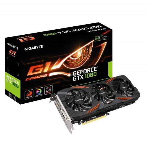 Bild: Gigabyte GeForce GTX 1080 G1 Gaming