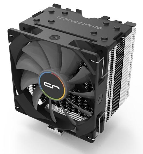 Bild: Cryorig und NZXT H7 Quad Lumi: Erster RGB-CPU-Kühler der Welt