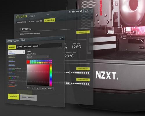 Cryorig und NZXT H7 Quad Lumi: Erster RGB-CPU-Kühler der Welt