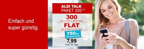 Aldi erhöht Datenvolumen der Mobilfunkverträge